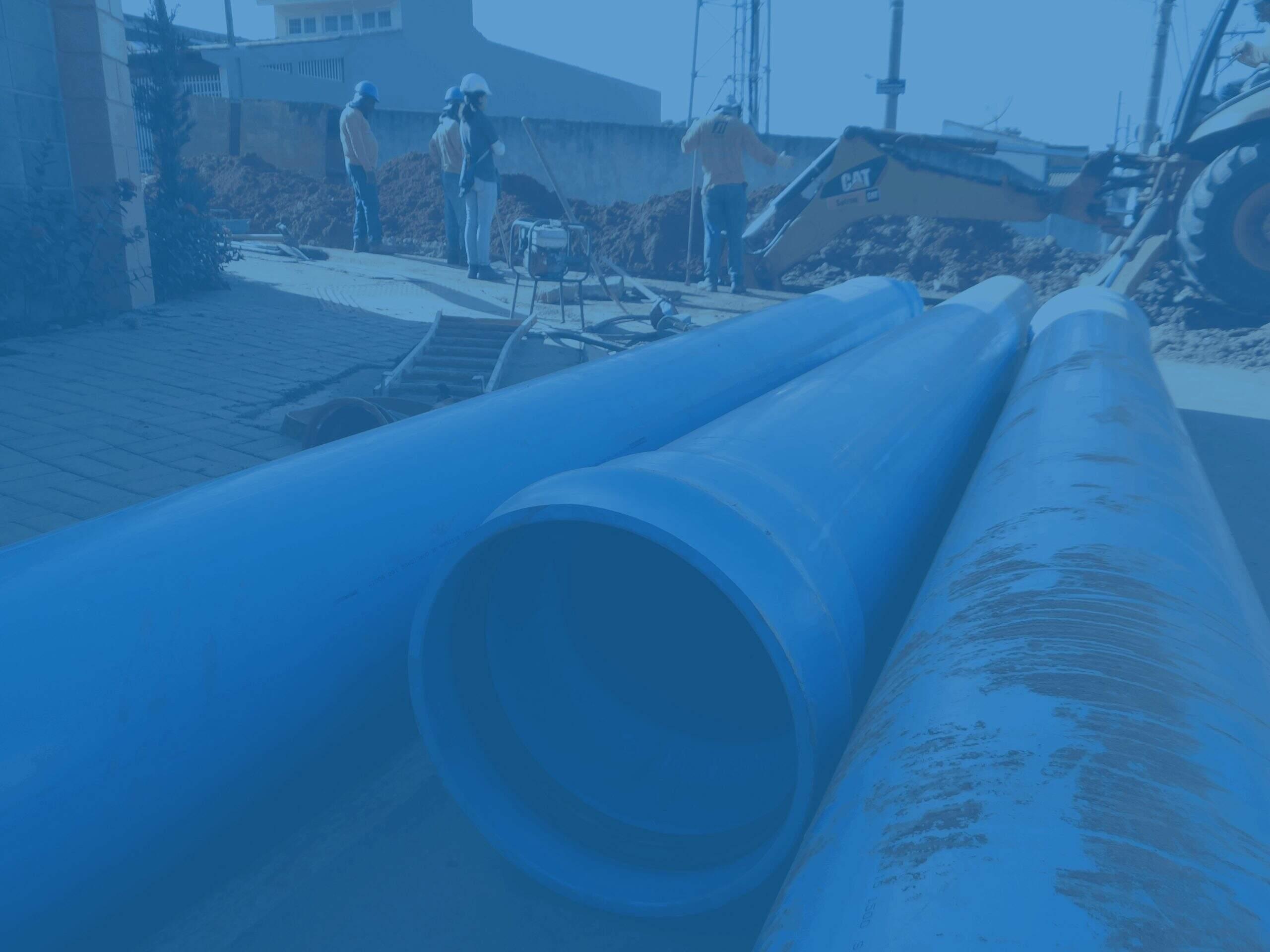 Guilherme Gazzola concluir obras que melhoram abastecimento de água em Itu.